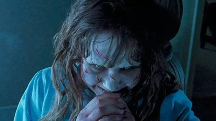 Regan possuída em O Exorcista