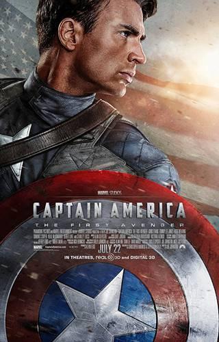 Capitão América: O Primeiro Vingador cartaz