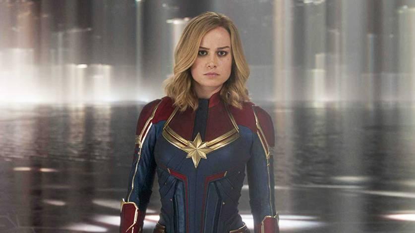 Brie Larson em Capitã Marvel