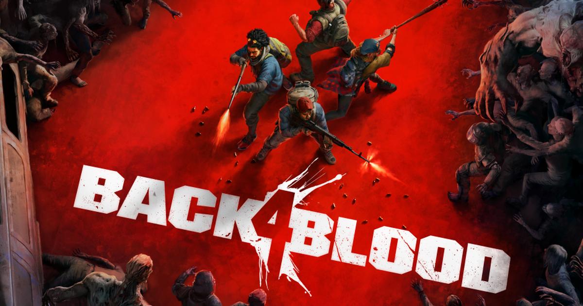 Capa oficial de Back 4 Blood