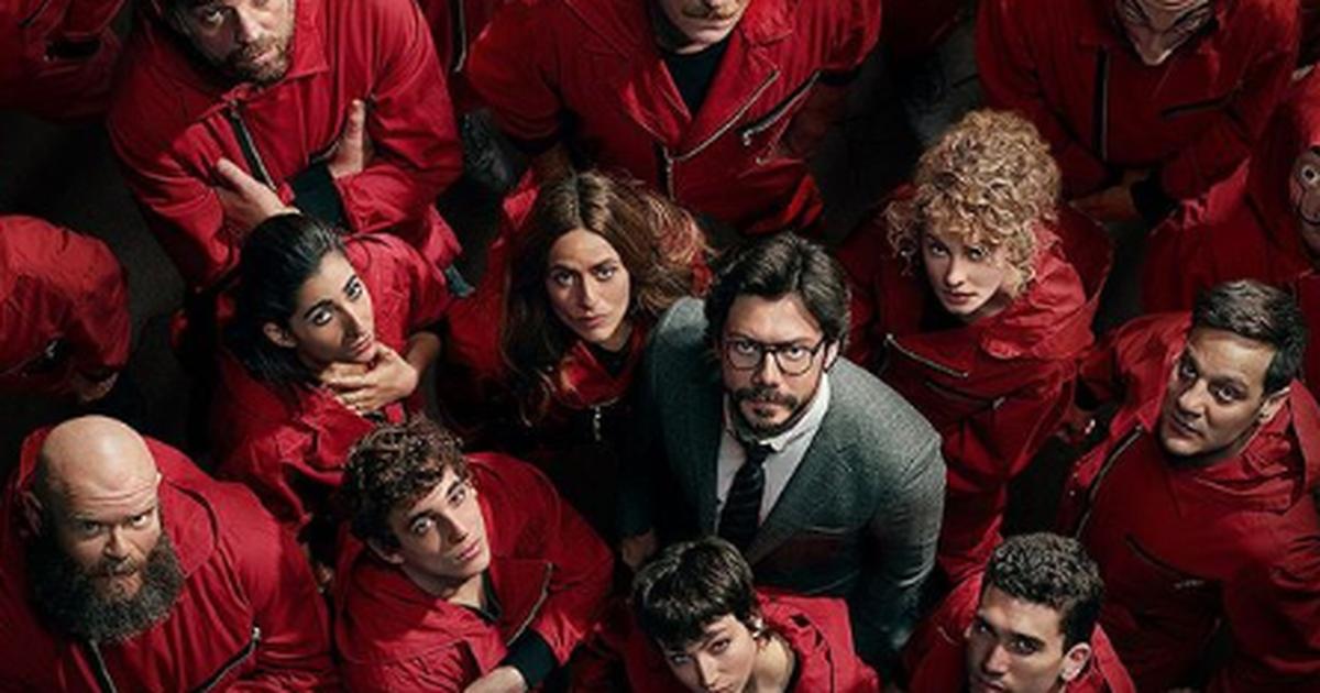 Pôster de La Casa de Papel destaca personagens da 4ª temporada