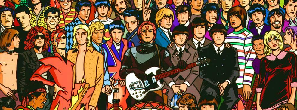 8 HQs para ler no Dia Mundial do Rock