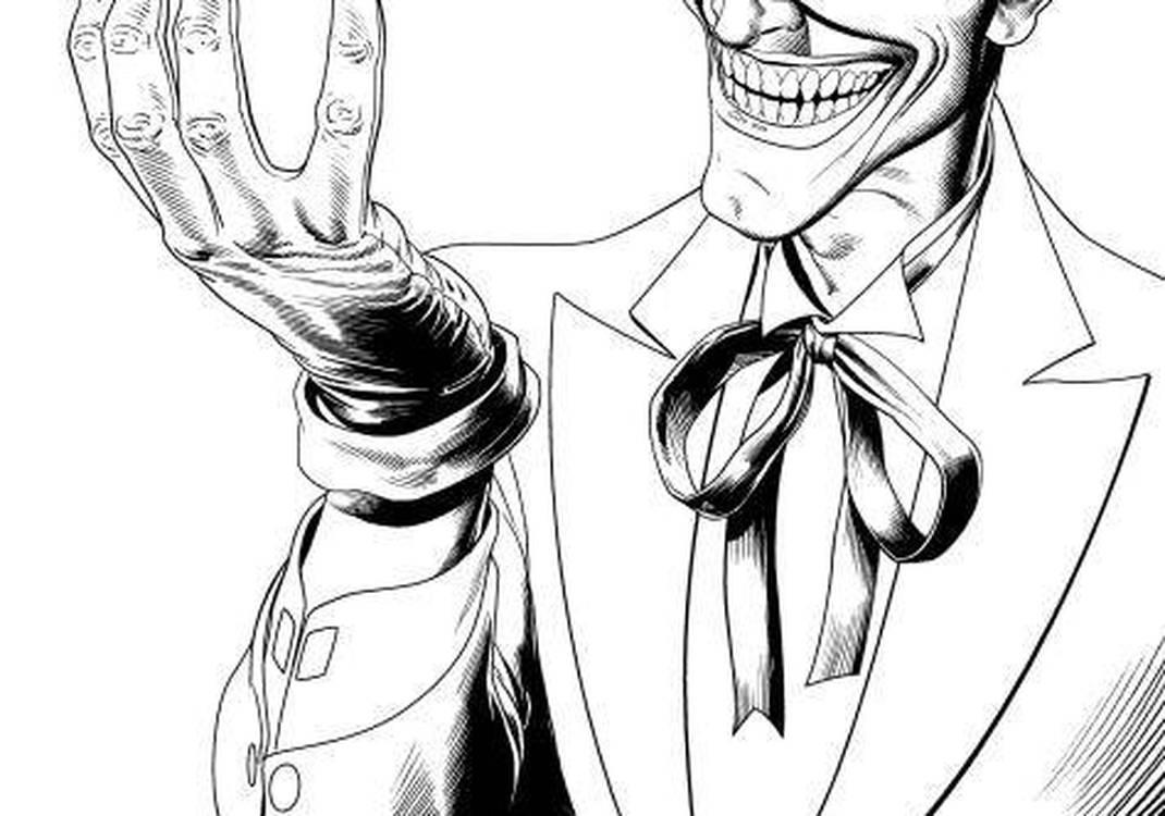 Coringa Do Batman Desenho Para Colorir