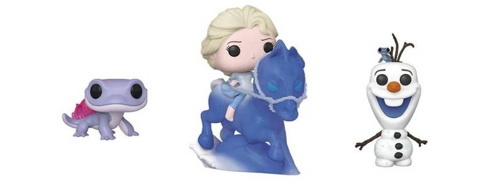 Frozen 2 ganha Funkos novos com direito a Elsa e seu cavalo de gelo