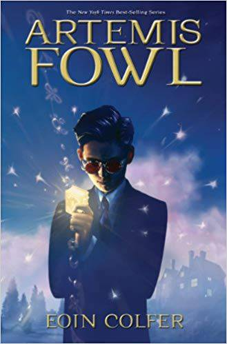 Capa do livro Artemis Fowl