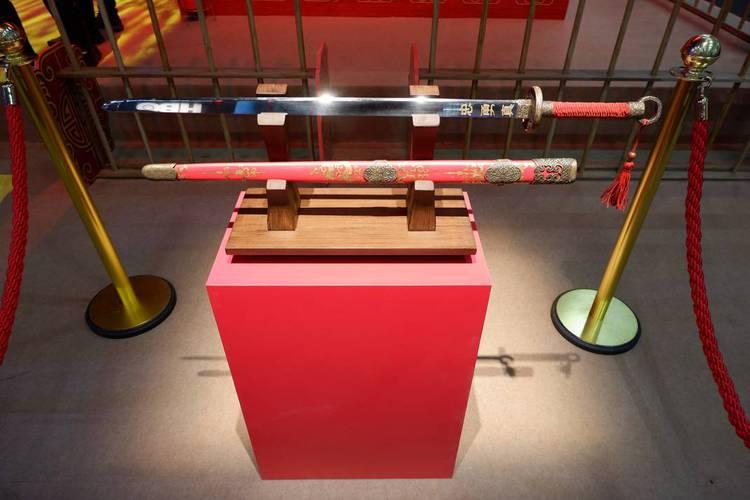 Espada de Mulan na CCXP19