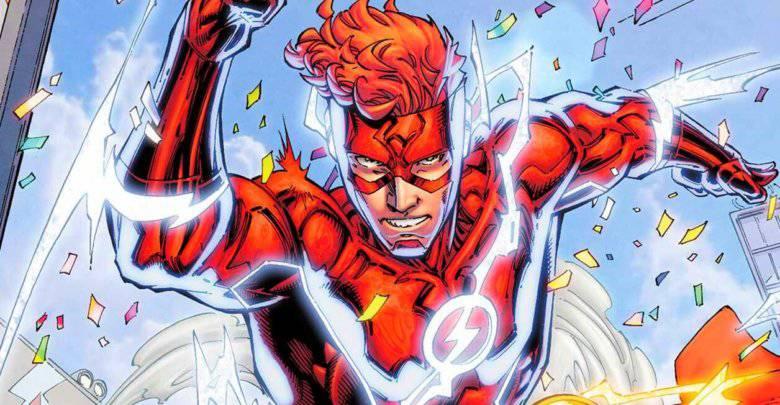 Wally West como Flash/DC Comics