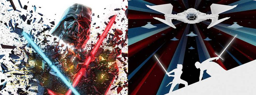 Star Wars   Novos cartazes mostram destruição de Darth Vader, batalhas e mais