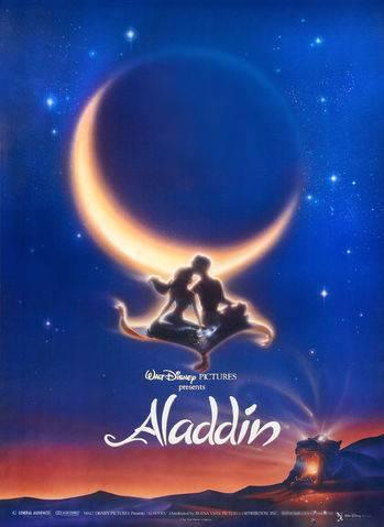 Cartaz da animação Aladdin