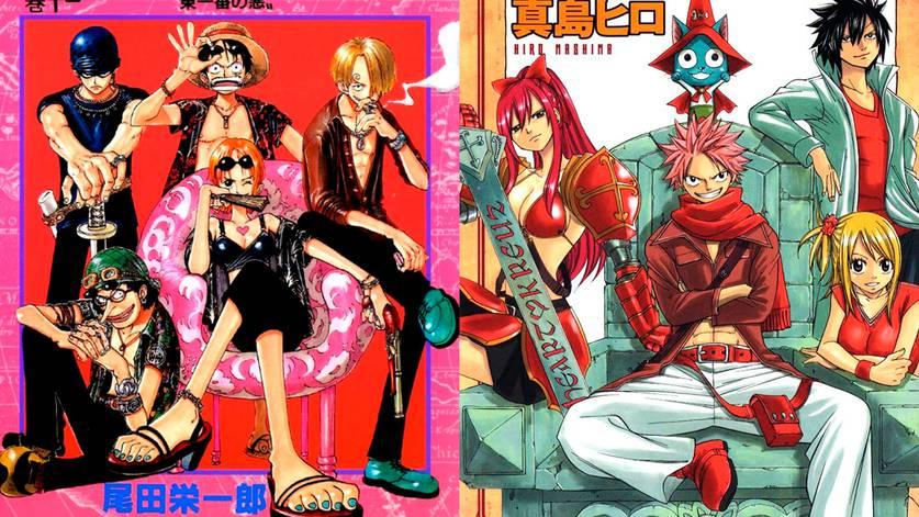 One Piece e Fairy tail