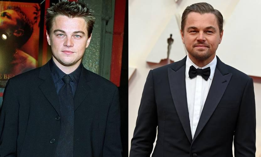 Leonardo DiCaprio em 2000 e 2020