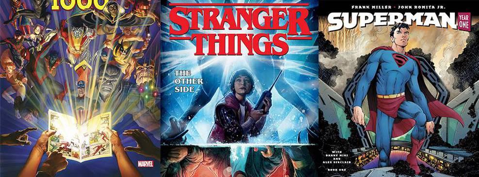 Stranger Things, X-Men e mais: Panini anuncia lançamentos de 2020 na CCXP19