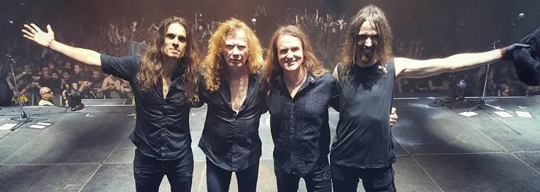 Megadeth brilha no palco mas faz show curto em São Paulo a94677e89e4