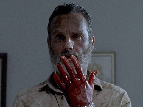 Andrew Lincoln como Rick Grimes em The Walking Dead