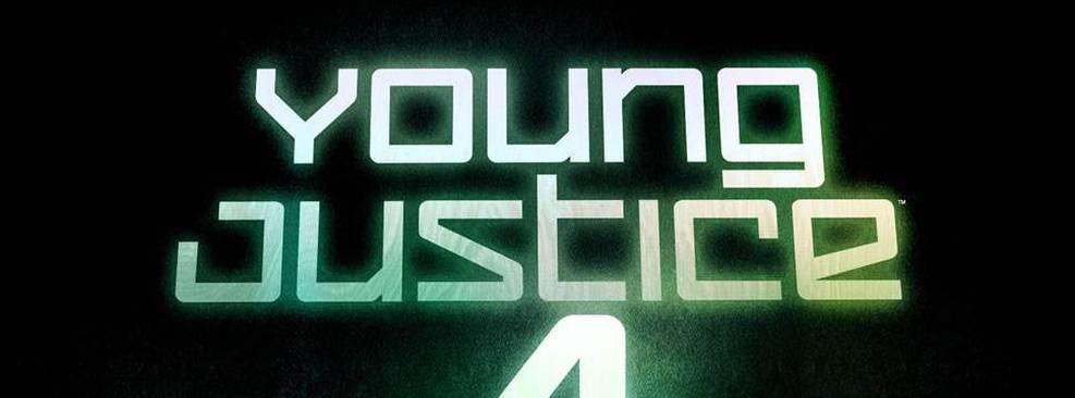 Logo da 4ª temporada de Justiça Jovem