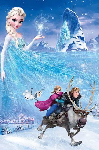 Cartaz de Frozen
