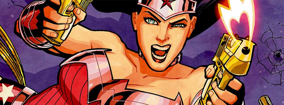 Ilustração da Mulher-Maravilha/DC Comics/Divulgação