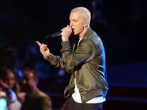 Imagem de Eminem/Frederick M. Brown / GETTY IMAGES NORTH AMERICA / Getty Images via AFP