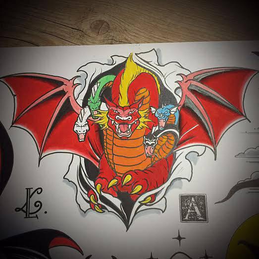 Artista Cria Tatuagens Inspiradas Em Caverna Do Dragão