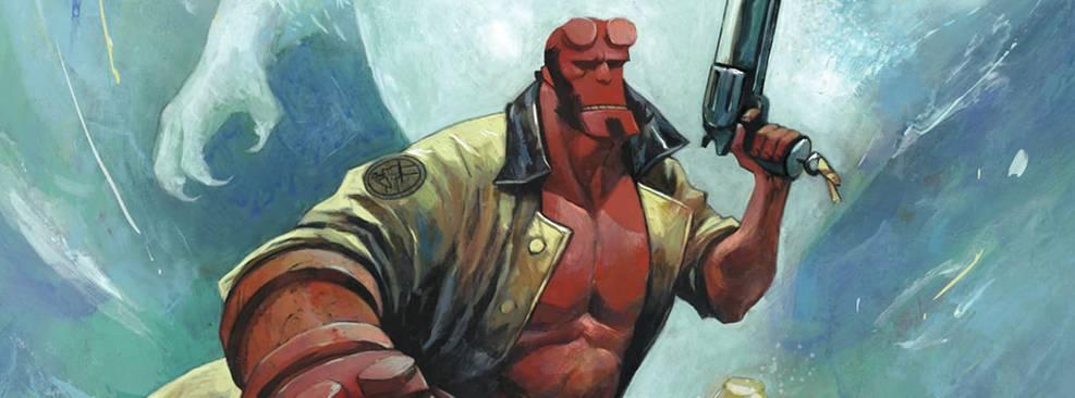 Hellboy caça abominável homem das neves em nova HQ; confira prévia