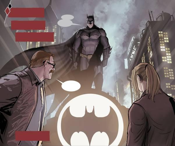 Batman, Coringa e Arlequina em Harleen