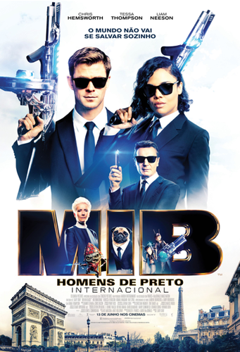 Cartaz de MIB internacional