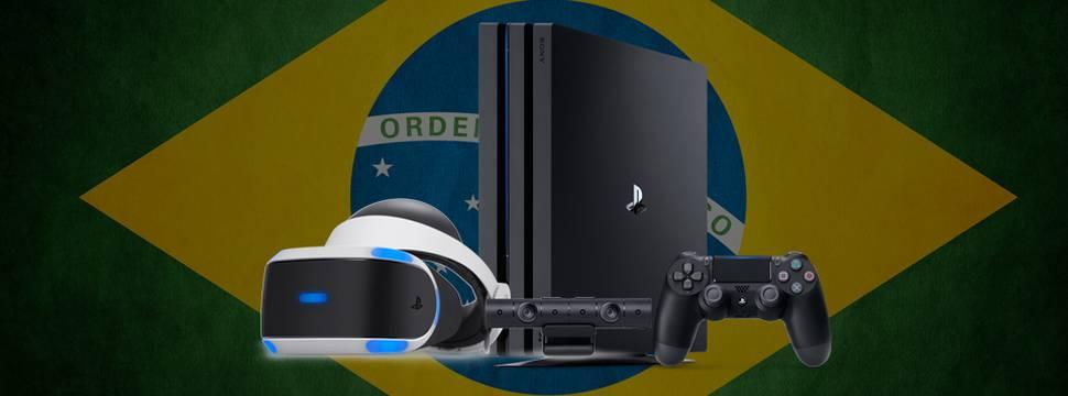 434c94b3b PlayStation 4 Pro e PlayStation VR chegam ao Brasil em dezembro   ATUALIZAÇÃO
