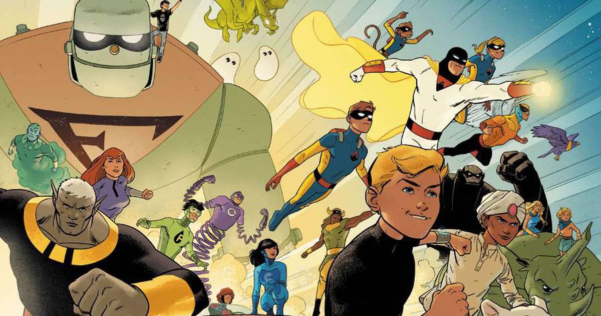 Hanna-Barbera na DC   HQs de Scooby Doo e Jonny Quest com Space Ghost têm mais detalhes