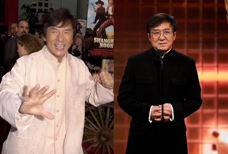 Jackie Chan em 2000 e 2020