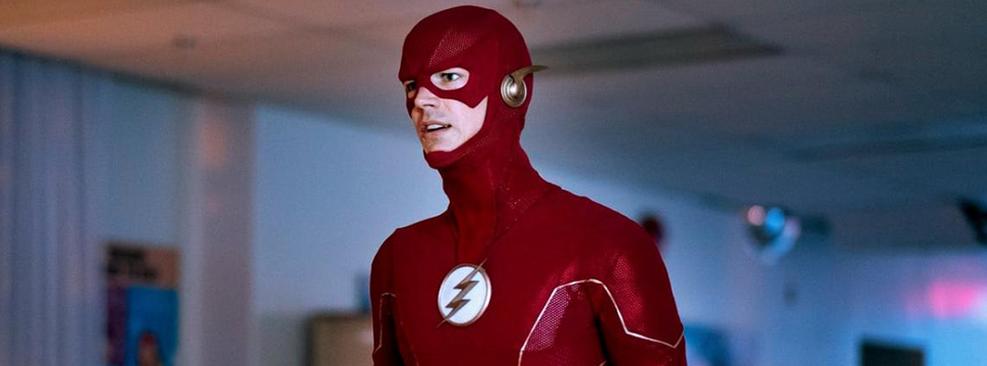 Grant Gustin como Flash em The Flash/CW
