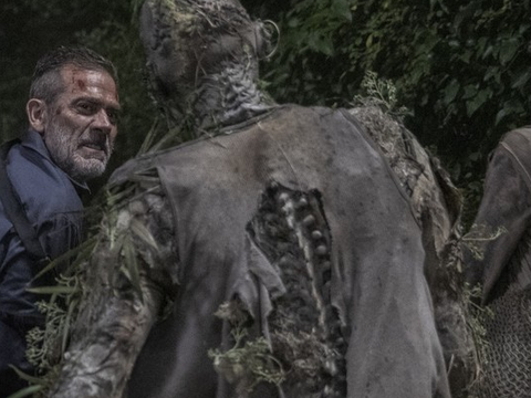 Jeffrey Dean Morgan como Negan em The Walking Dead