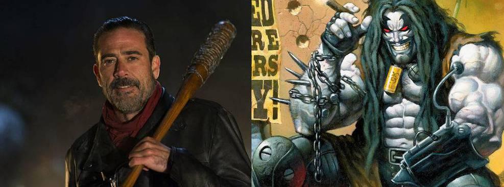 Jeffrey Dean Morgan em The Walking Dead; Lobo na DC Comics