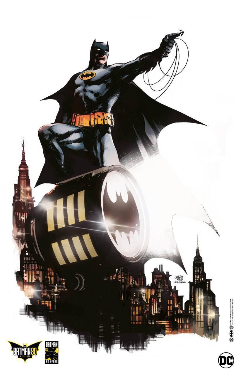 Batman 80   Poster oficial   Ivan Reis e Pedro Cobiaco