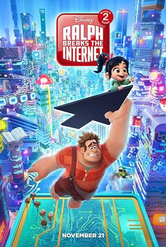 Cartaz de WiFi Ralph – Quebrando a Internet