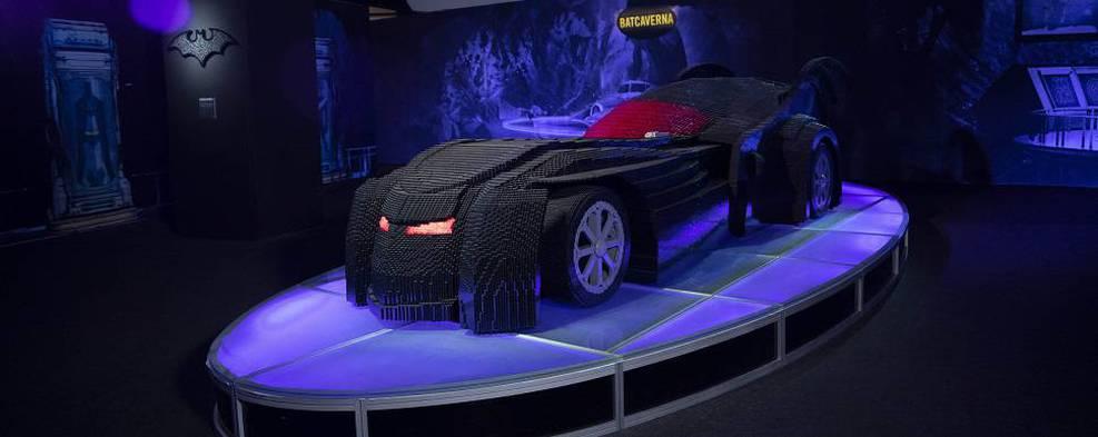 Exposição com personagens da DC feitos de LEGO é prorrogada em SP