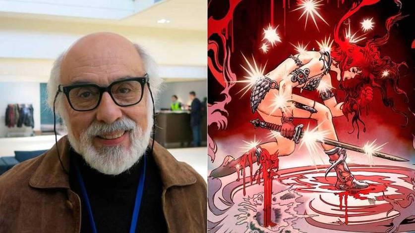 Esteban Maroto, artista de Red Sonja