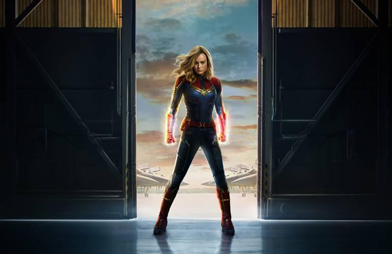 Banner de Capitã Marvel