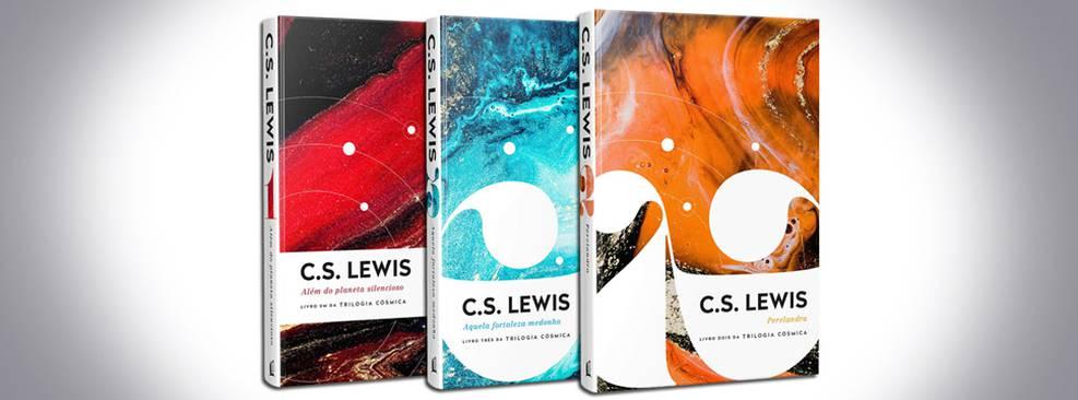 Trilogia Cósmica de C.S. Lewis será republicada no Brasil