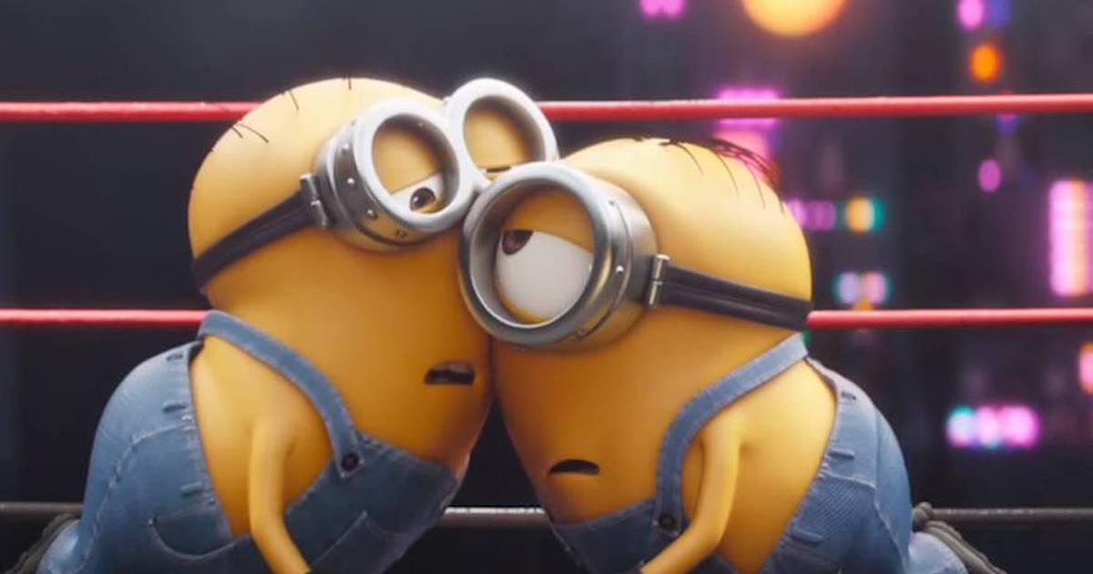 Minions competem até cair em novo curta-metragem