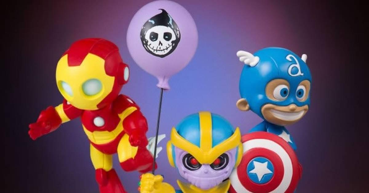 Heróis e vilões da Marvel na versão bebê de Skottie Young ganham estatuetas