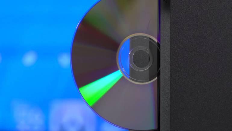 Um leitor de Blu-Ray