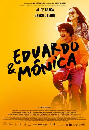 Cartaz de Eduardo e Mônica/Globo Filmes
