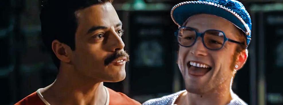 Por que é injusto comparar Rocketman e Bohemian Rhapsody