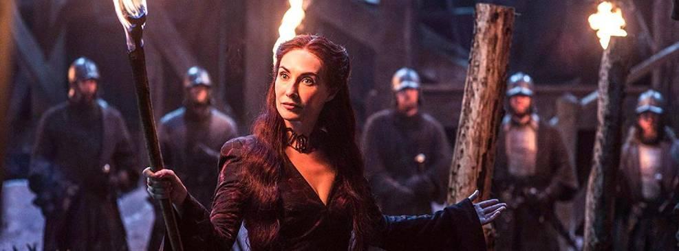 Carice van Houten, a Melisandre de GoT, posta foto de bastidores; veja