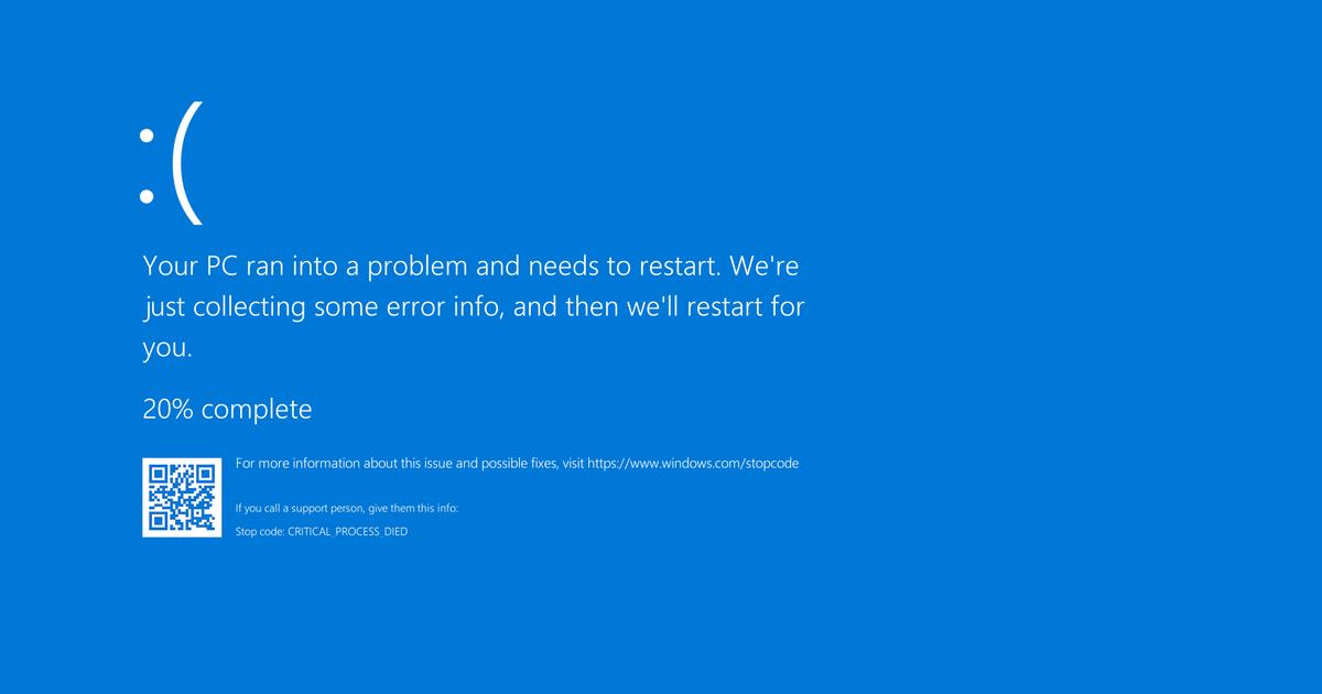 Tela Azul da Morte terá outra cor no Windows 11