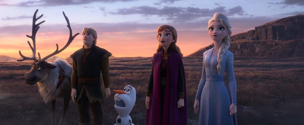 Frozen II estreia no topo da bilheteria dos EUA