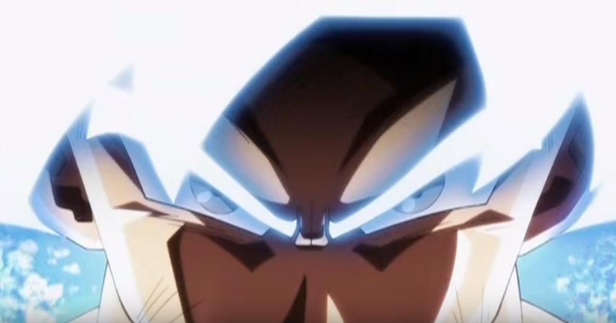 Dragon Ball Super Visual De Goku Com O Instinto Superior é