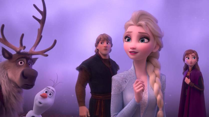 Cena de Frozen 2