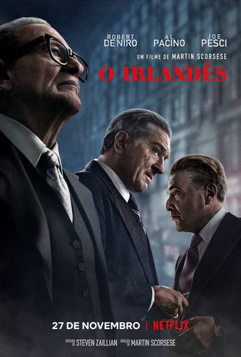 Resultado de imagem para o irlandês filme poster