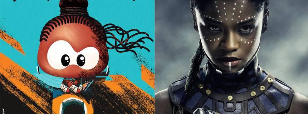 CCXP19 | Turma da Mônica ganha crossover com Pantera Negra em novo cartaz
